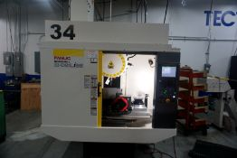 Fanuc Robodrill D21LiB5 5-Axis Ready Vertical Machining Center, Fanuc 31i-B5 Control, New 2018