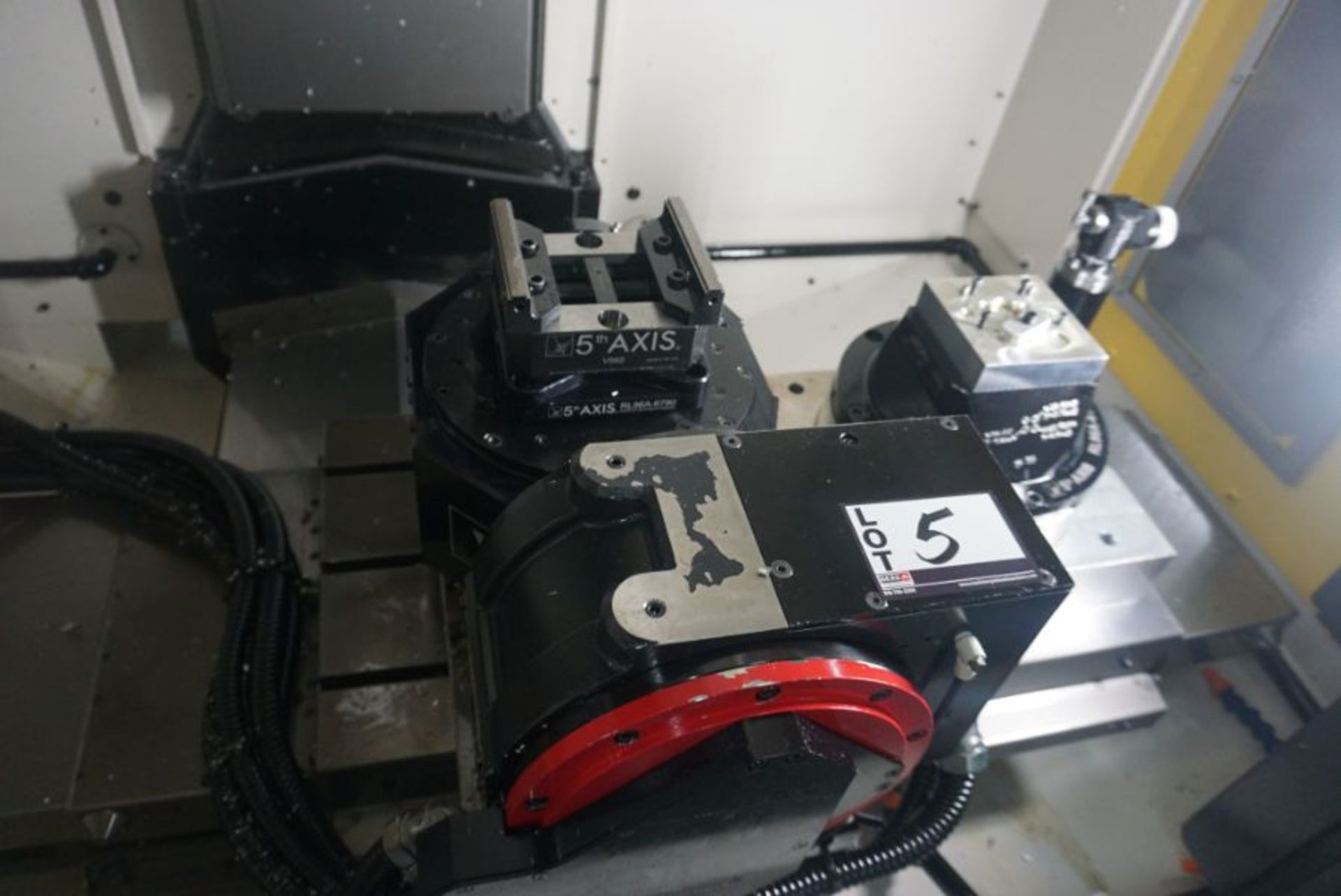 Haberle Fanuc DDRiB 5 Axis Rotary Table, s/n P183DXN18, New 2018