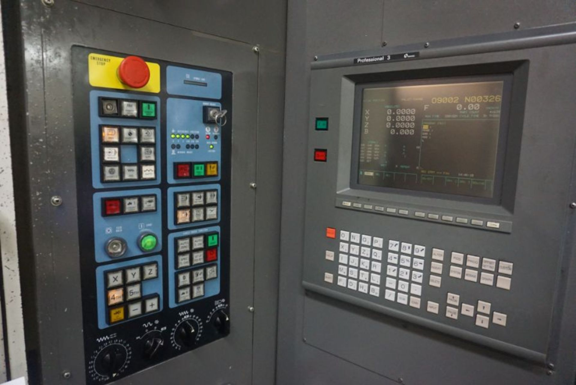 Makino MC98-A99 4-Axis Horizontal Machining Center, Fanuc 16 Pro 3 Control, New 1991 - Image 7 of 8