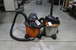 (2) Shop Vacuums