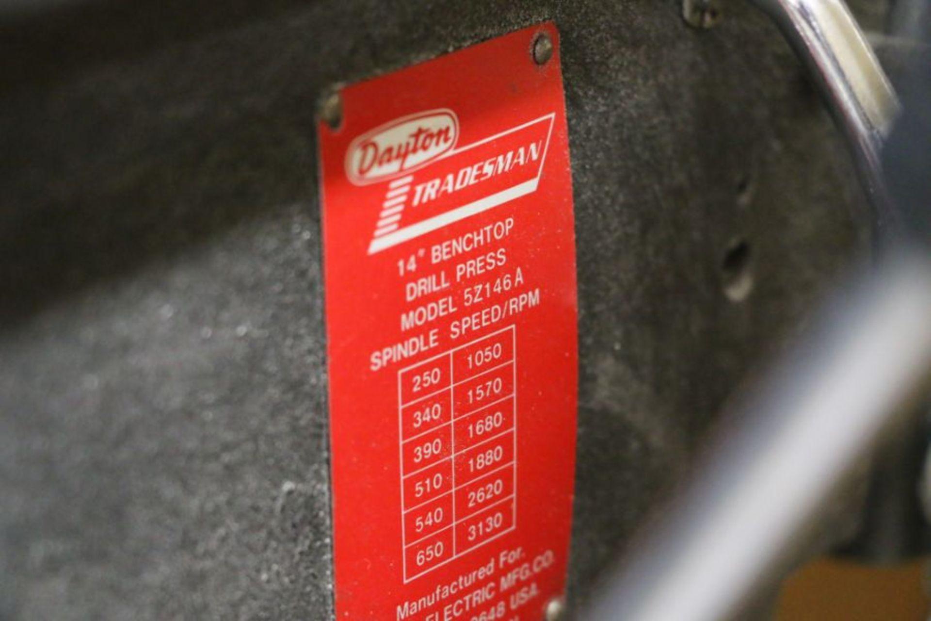 "Dayton 14"" Bench Top Drill Press - Image 4 of 4"