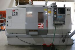 Haas TL-25 CNC Lathe, Collet Nose, 12 Position Turret, s/n 65420, New 2002