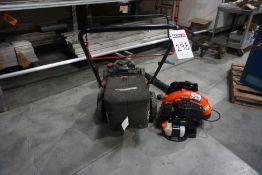 Craftsman Lawn Mower and Echo PB-580T Leaf Blower