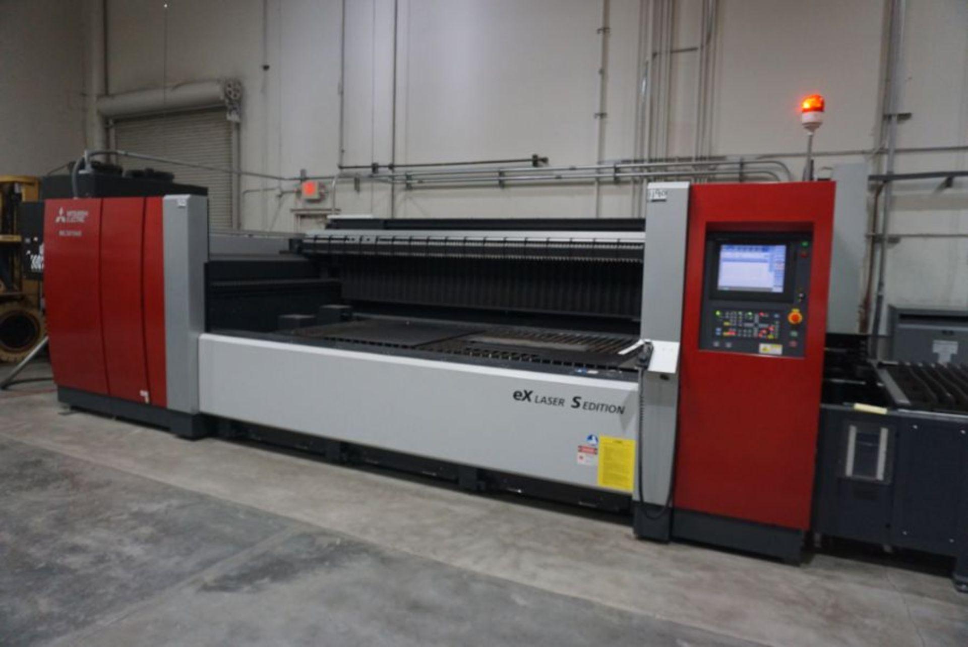 Mitsubishi ML3015eX-s CNC Co2 Laser, New 2015 - Image 3 of 8