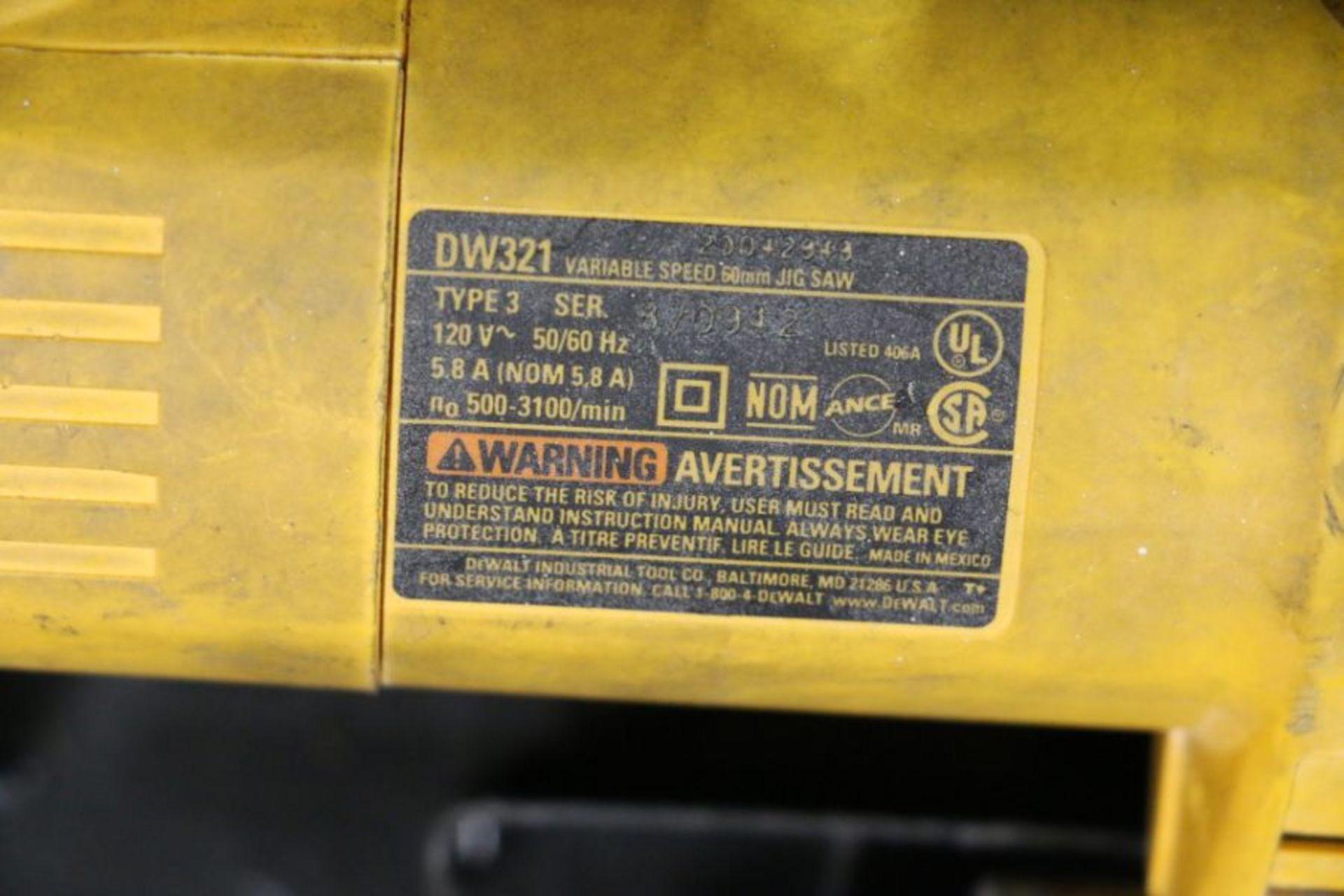 Dewalt DW321 Variable Speed 60mm Jig Saw - Image 4 of 4