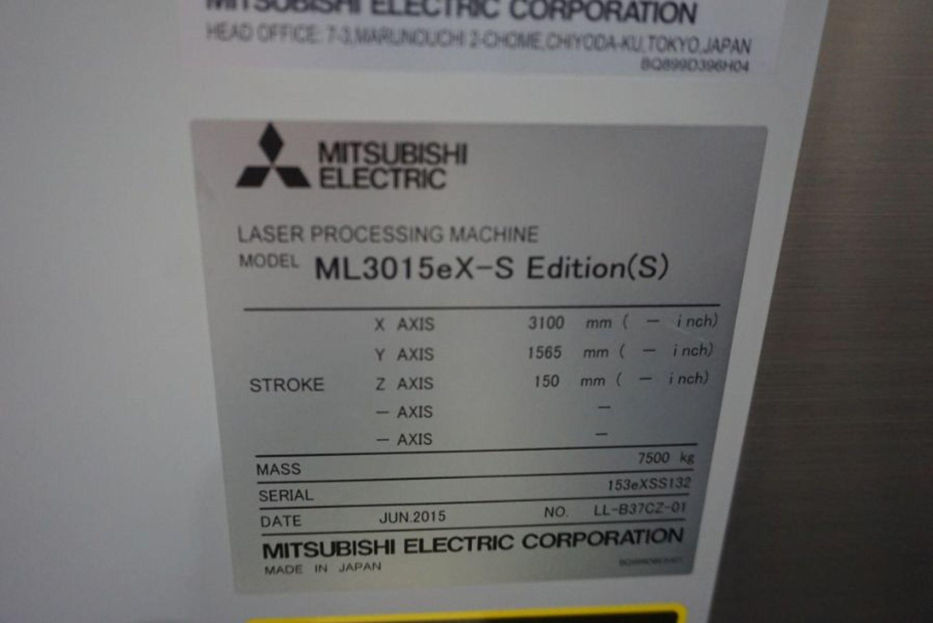 Mitsubishi ML3015eX-s CNC Co2 Laser, New 2015 - Image 8 of 8
