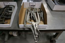 Assorted Vice Grip Clamps