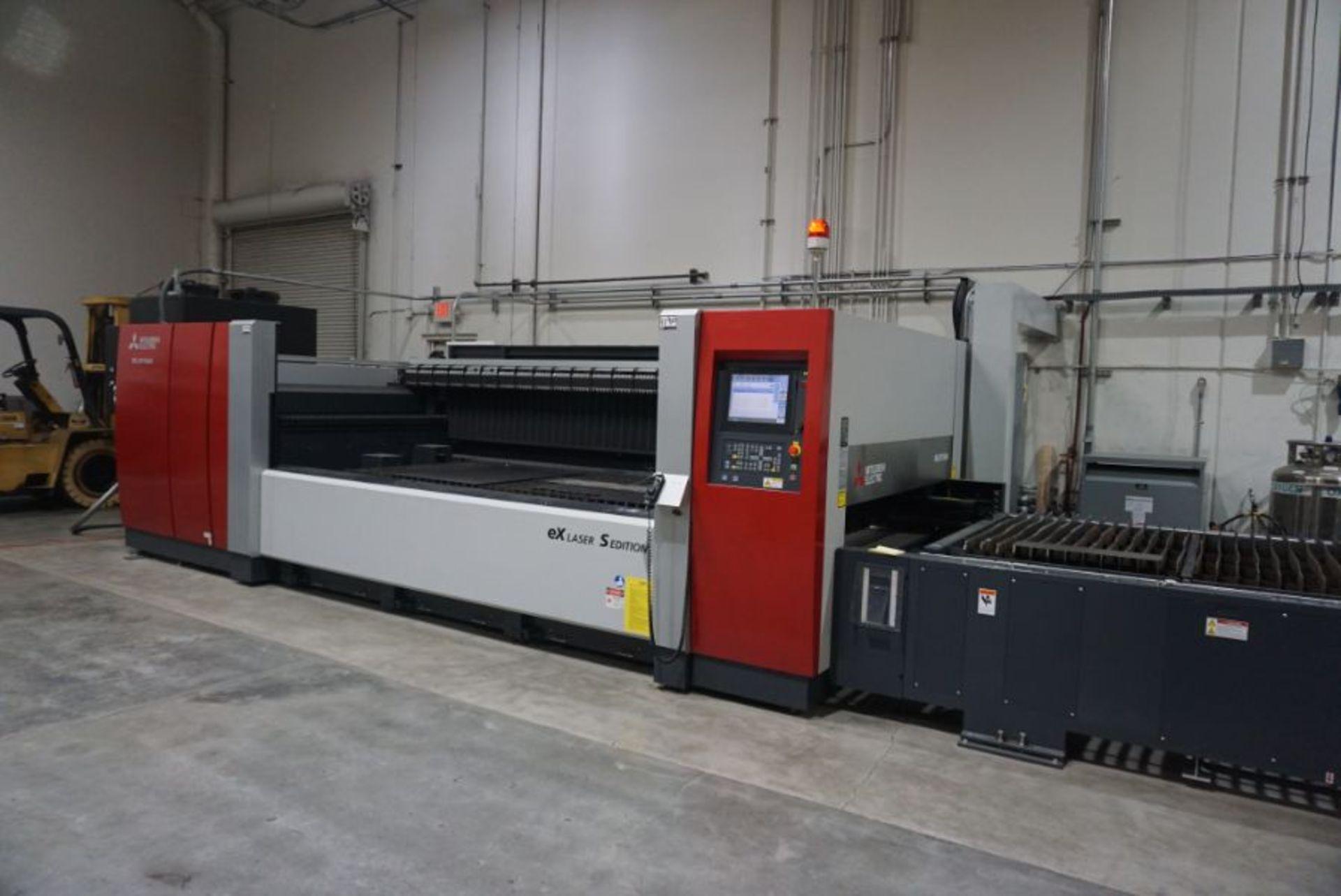Mitsubishi ML3015eX-s CNC Co2 Laser, New 2015