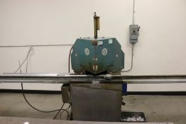 CTD Machines Double Miter Saw