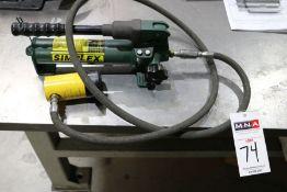 Simplex Hydraulic Pump 2850 PSI Cap.