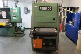 Ramco 25 Wide Belt Sander, s/n 1219