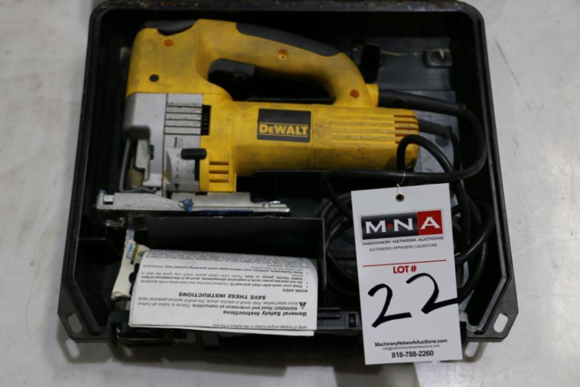Dewalt DW321 Variable Speed 60mm Jig Saw