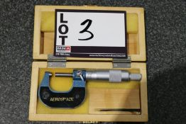 Aerospace Inch Outside Micrometer