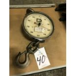 Weigh-Tronix Inc. Dillon Dynamometer, 1000 lb. Cap. Hoist Scale