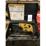 """DeWalt DW540, 1 1/2"""" Electric Rotary Hammer 120 Volt"""