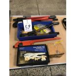 Assorted Crimping Hand Tools