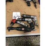 Assorted Pneumatic Drill/Ratchet Hand Tools