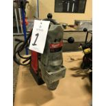 """Milwaukee 5297-1, 1 1/4"""" Mag Drill with Cat. # 4203 Mag. Base, 120 Volt"""