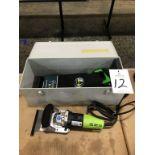Wolff Junio-Stripper, Electric Floor Stripping Tool 115 Volt