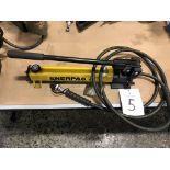 Enerpac P392, Hydraulic Power Unit Hand Pump Type