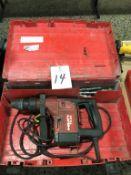 Hilti TE25, Electric Rotary Hammer 115 Volt