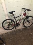 IRON HORSE RE/GREAY SIZE 19 inches MTN Speed 18 Tag # 90