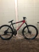 ROCKY MOUNTIAN RED/BLK SIZE 20 inches MTN Speed 24 Tag # 62