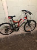 SUPERCYCLE ORANGE SIZE 16 inches MTN Speed 18 Tag # 67