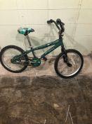 ANTIGO AMBUSH GREEN SIZE 18 inches BMX Speed 1 Tag # 91