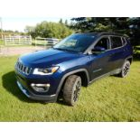 2018 JEEP COMPASS LTD. 4 WD, SPORT UTILITY SUV 4 DR, 37986 KM SHOWING