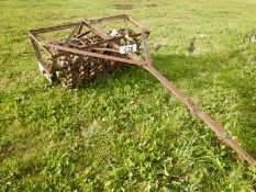ANTIQUE 4 FT CROWFOOT PACKER