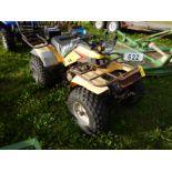 YAMAHA 200 ATV S/N JY452H000FC01374