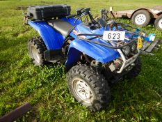 02/99 YAMAHA WOLVERINE 300 4X4 ATV W/WINCH, RACKS S/N JY44BW05XA089355 (IN-OPERATABLE)(SAID TO RUN