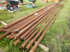L/O 19 PC 3 3/8 OD X 30 FT +/- DRILL STEM PIPE