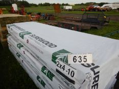 66 PC- 2X4X10 FT PLANED LUMBER (GRADE 2 OR BETTER)