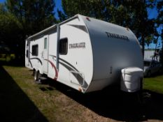 2009 KOMFORT TRAILBLAZER 278 SE TRAVEL TRAILER W/ ONE SLIDE OUT