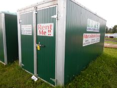 MOMS 7X14 FT MOBILE ONSITE MOBILE STORAGE UNIT UNIT A76