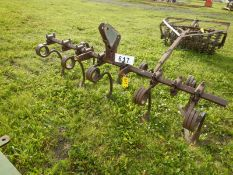 JD TOOLBAR 8 FT X 3 PT CULTIVATOR