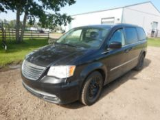 2015 CHRYSLER TOWN & COUNTRY SPORTS VAN, S/N 2C4RC1CG3FR504098, 151,357 KM SHOWING