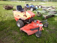 DEINES 1800 FRT MOUNT MOWER -367 HRS SHOWING W/DIENES 60-SLD DECKS/N