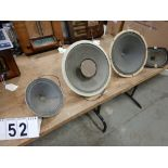 L/O SPEAKERS - VARIETY OF SIZES APPROX. 20 SPEAKERS
