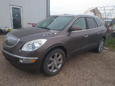 2010 BUICK ENCLAVE CXL SUV 7 PASSENGER, FULL LOAD, 165,300 KM SHOWING, S/N 5GALVCED7AJ123531