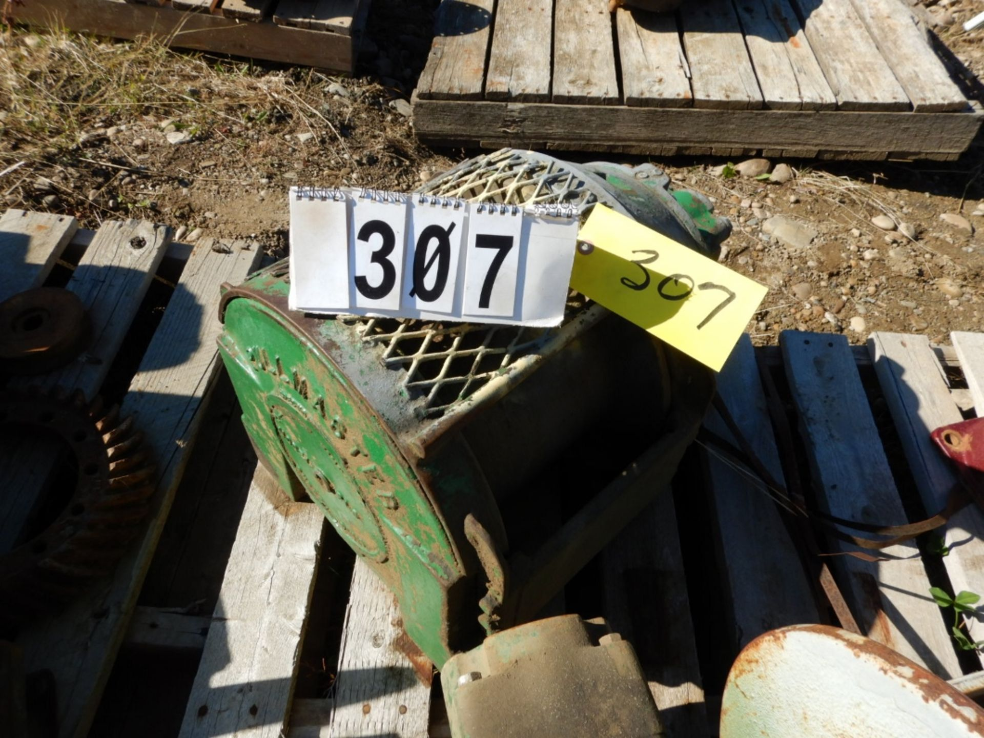 Lot 307 - BRADEN MECHANICA WINCH, PULL MASTER P18 HYD WINCH