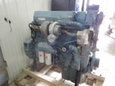 1997 DETROIT 60 DIESEL ENGINE, RUNNING, 470/430 HP, MODEL 6067GK60