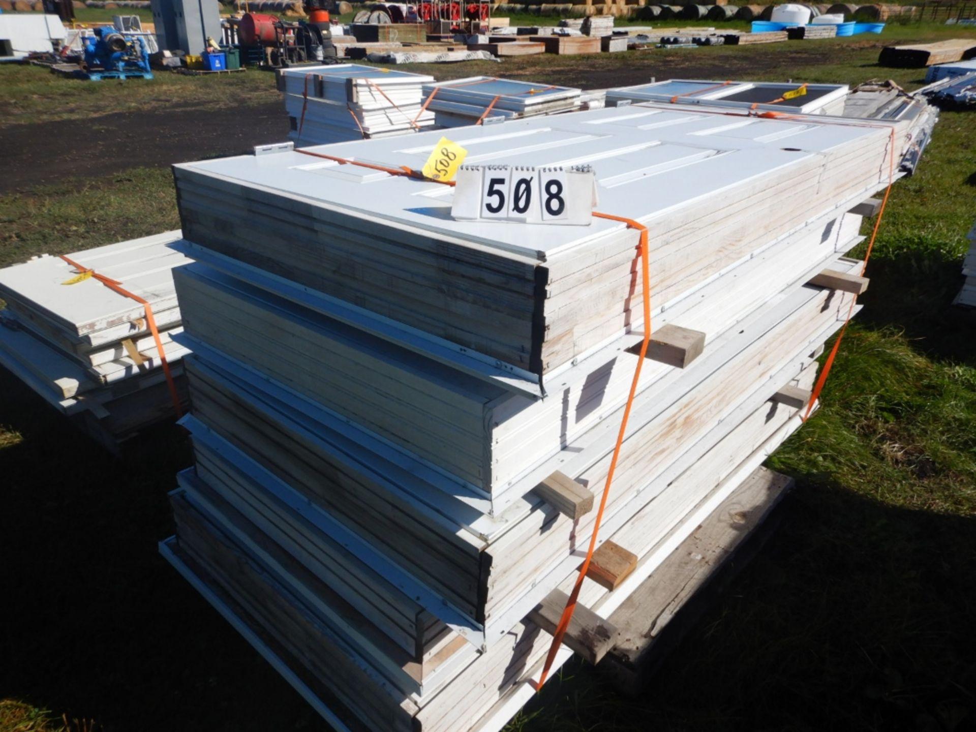 "Lot 508 - L/O 5-36""X80"" EXTERIOR DOORS W/JAMS"