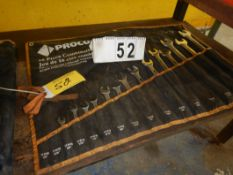 "PROCORE COMBINATION WRENCH SET, 3/8"" - 1 1/4"""
