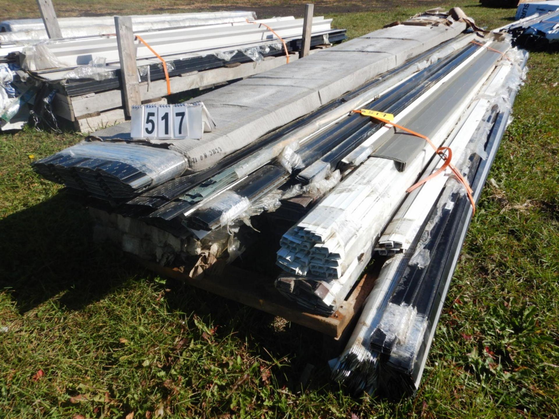 Lot 517 - L/O METAL SOFFIT & ASSORTED METAL TRIM