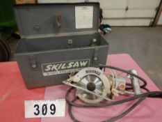 SKILSAW MODEL 77 PORTABLE CIRCULAR SAW W/CASE