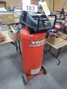 HUSKY UPRIGHT PORTABLE AIR COMPRESSOR, 5.5 HP, 32 GAL, 150 PSI