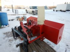"FRONT MOUNT DUAL STAGE 78"" SNOW BLOWER TO FIT SKID STEER"